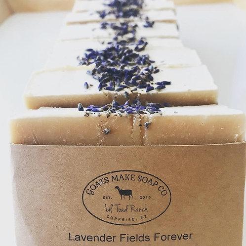 Lavender Fields Forever- Goat Milk Soap