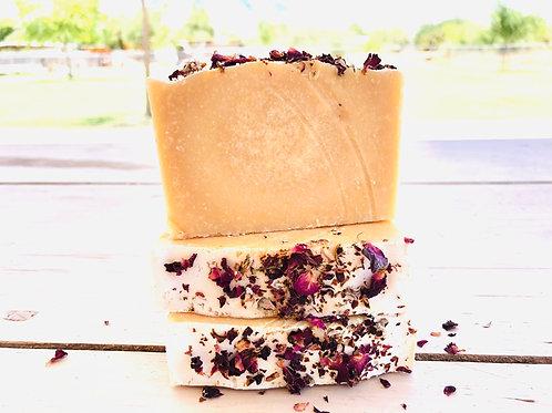 Geranium Rose Goat's Milk Soap