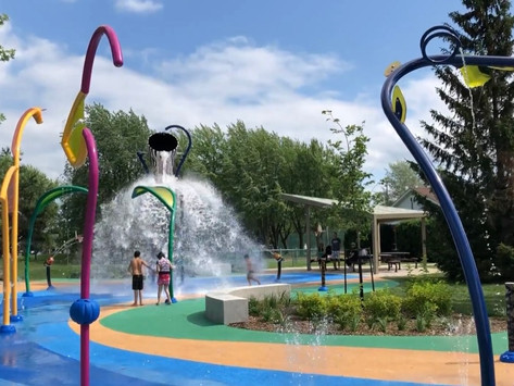 Splash Pads located on Montreal's West Island