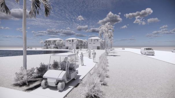 Direct Beach Golf Cart Access