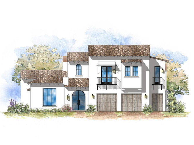 Plan A Front Elevation