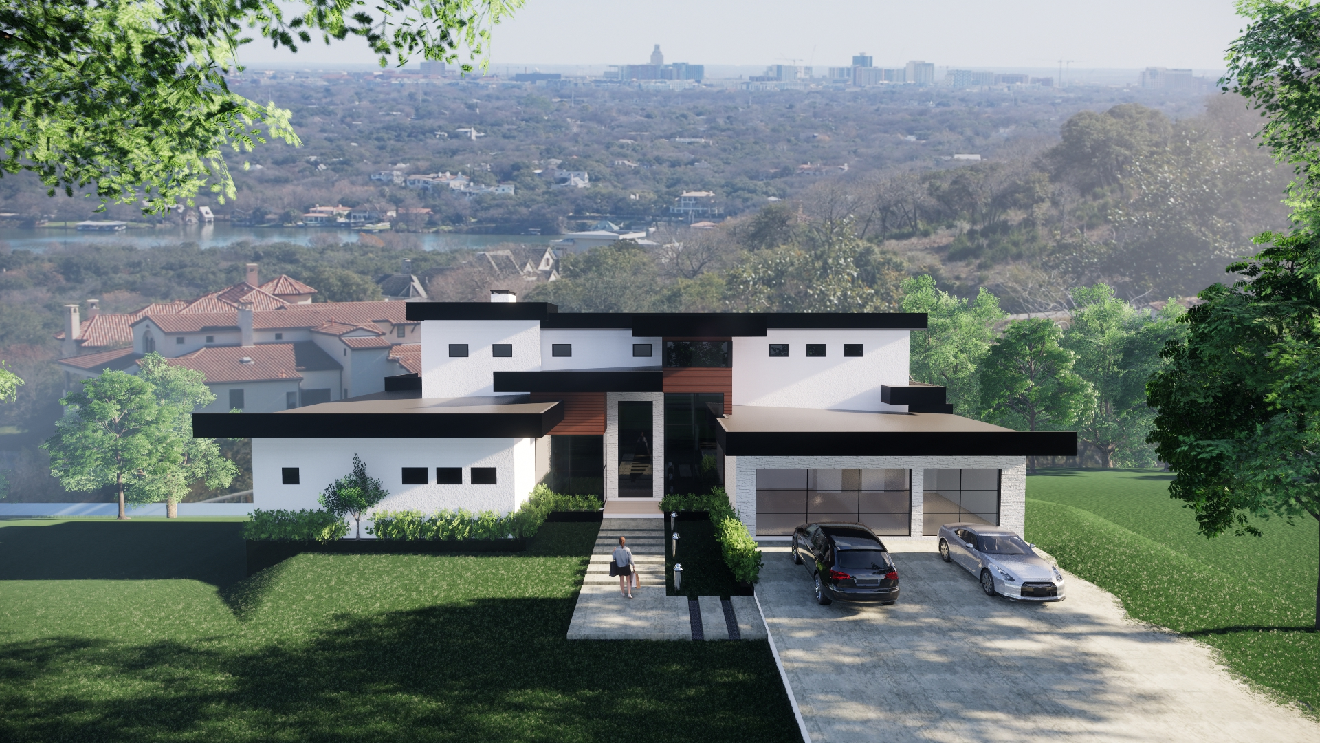 Front Elevation View Rendering 2
