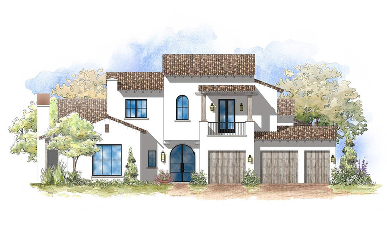 Plan B Front Elevation