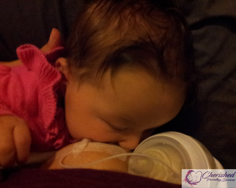 Homemade SNS, breastfeeding, finger feeding