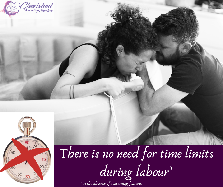 No need for time limits during labour, normalise birth