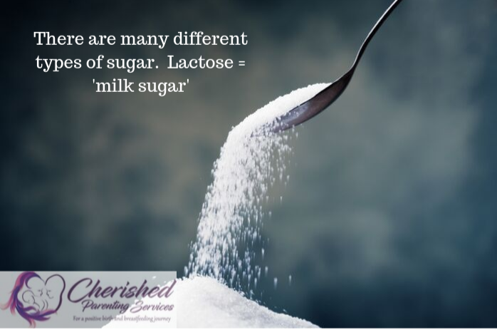 Lactose is milk sugar