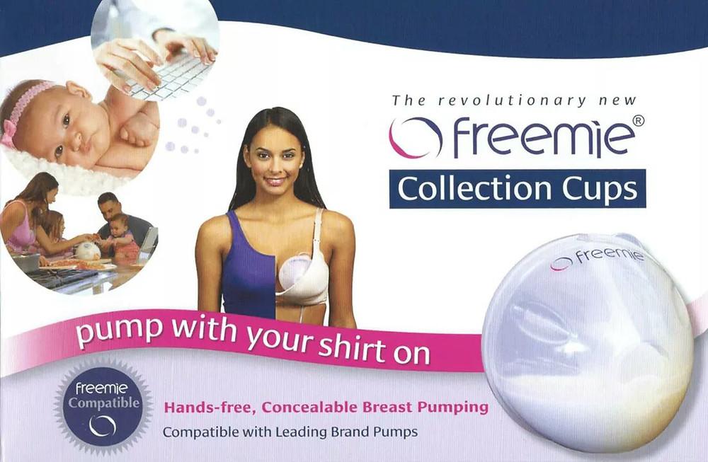 Freemie, hands free expressing, bra, express at work