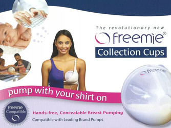 Hands-free expressing with Freemie® Kits