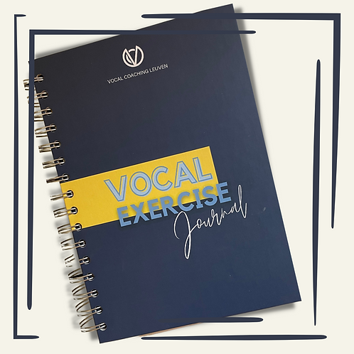 Vocal Exercise Journal