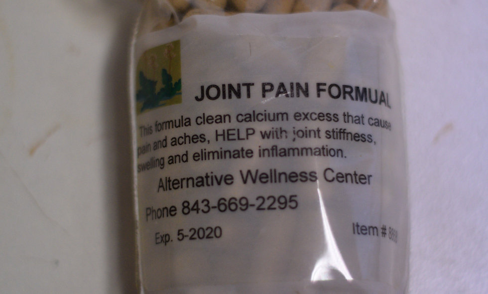 Joint Pain Formula