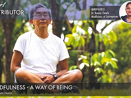 MINDFULNESS - A WAY OF BEING