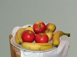pommes et bananes bonne image