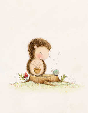 LITTLE LOVES-hedgehog