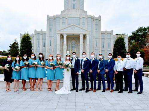 Mormon Church Wedding