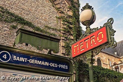 VRippey Paris Saint-Germain Metro Sign s