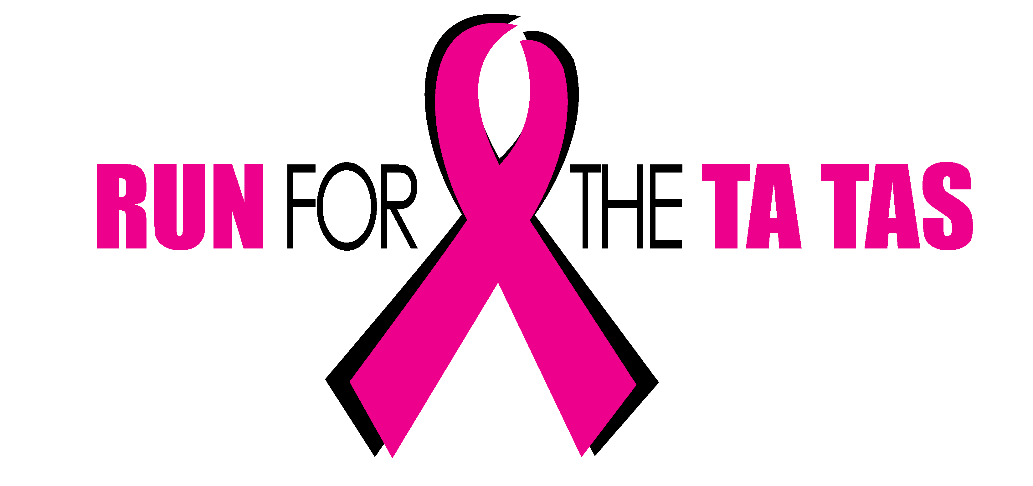 Run for the Ta Tas Logo