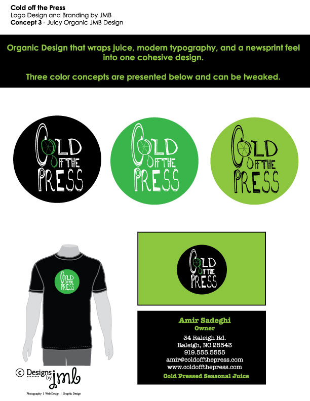 Cold Off The Press Option 2