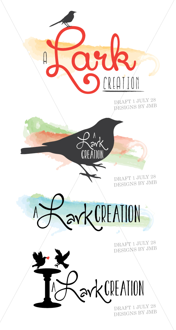 A Lark Creation Logo Concepts