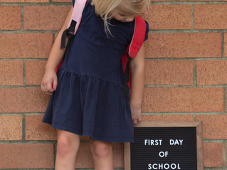 Tips for IG Worthy First Day Of School Picts