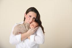 Mom and Newborn Pose