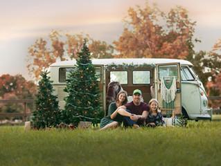 A Christmas Adventure in a VW Bus!   Castle Hayne NC