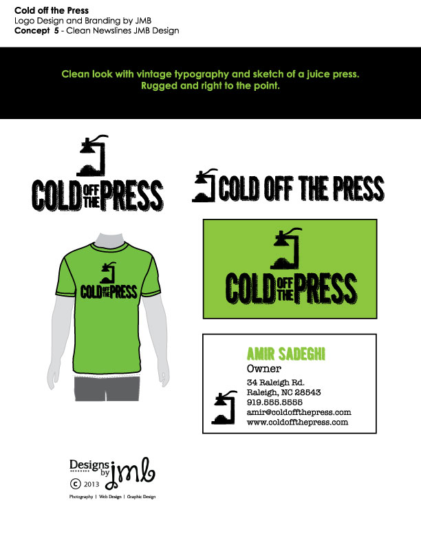 Cold Off The Press Option 4