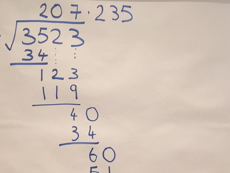 How long division taught me to think about crime
