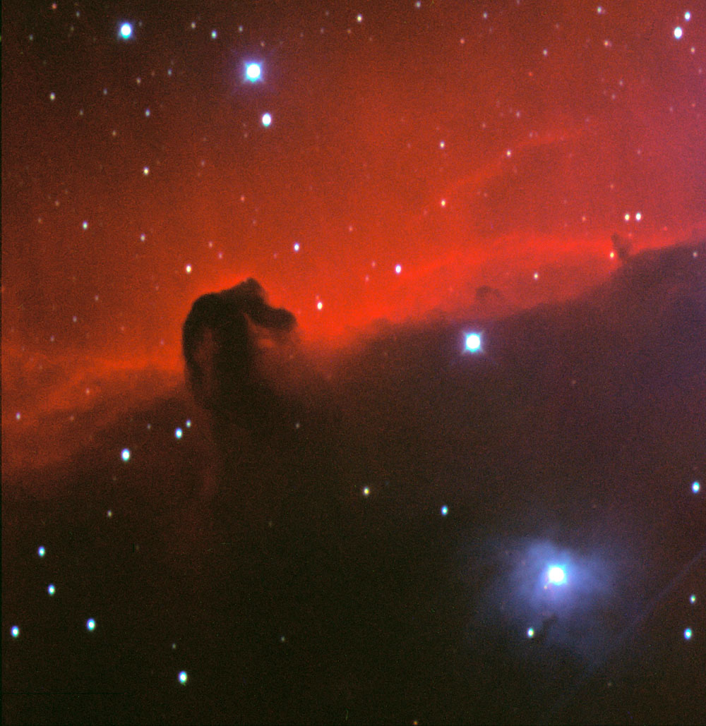 Horse Head Nebula - detail
