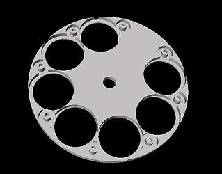 Filter-Wheel integrated in AST8300
