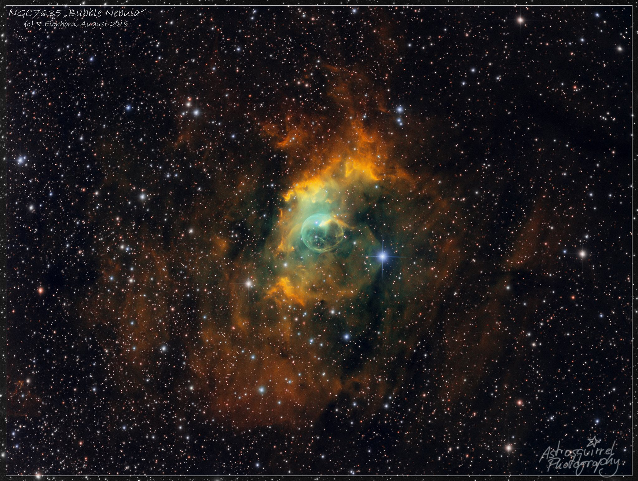 ‎Bubble Nebula by Rajko Eichhorn