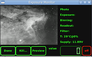 Astrel SW Tools: Exposure Monitor