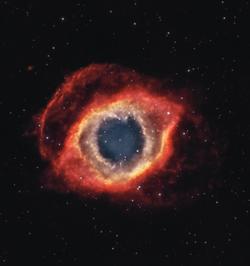 Helix Nebula by Frank Breslawski