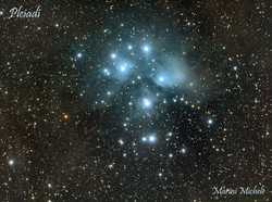 Pleiades by Michele Marini