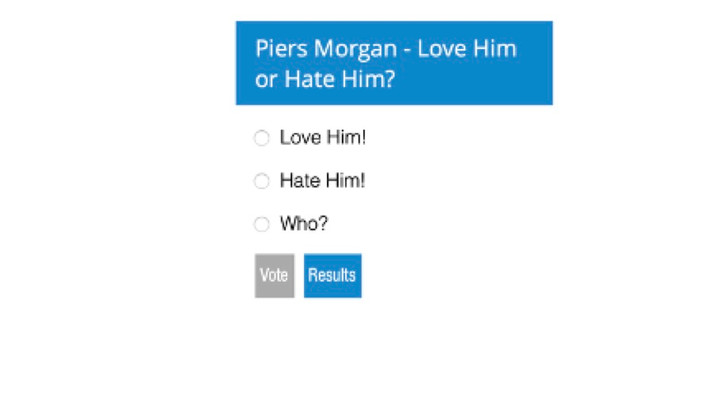 Piers Morgan - Do you love him or hate him?