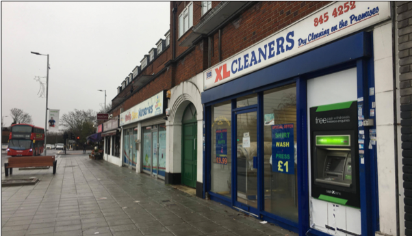 XL Cleaners . . . Run by Mr Shah and his brother