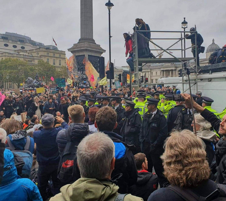 New police powers to break up non-violent protests