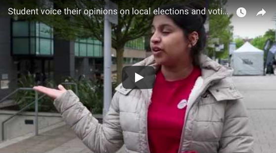 Students voice their opinions on local elections and voting