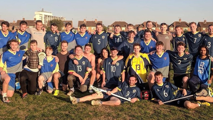 "Brunel Lacrosse Team ""Russell"" Up Crushing First Win"