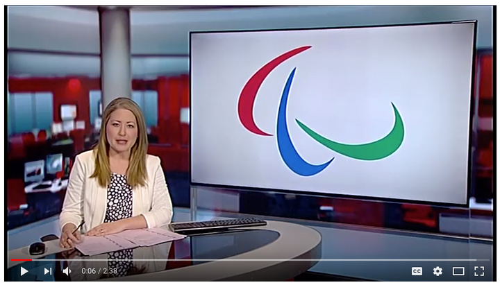 BBC TV follows up IKB Insider's Paralympic story