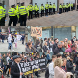 Thousands march in Oxford Street to protest lockdown