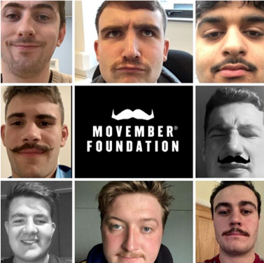 Brunel's Rugby club teams up with Movember Foundation