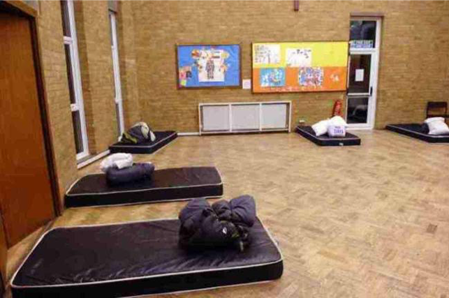"""Hillingdon offers """"immediate shelter"""" for vulnerable rough sleepers through their Winter Night Shelt"""