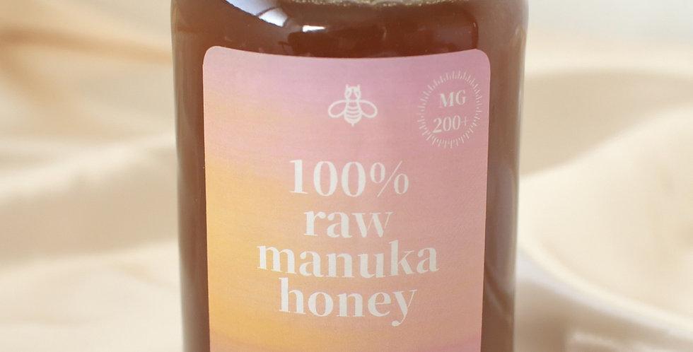rosy特製 生マヌカハニー NZ産オーガニック蜂蜜