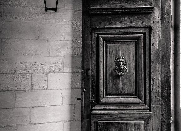 Une porte qui a son histoire