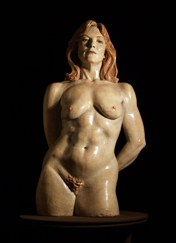 1JB-Painted-Ceramic-Figurative-Sculpture