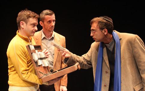 Bassanio, Antonio and Shylock