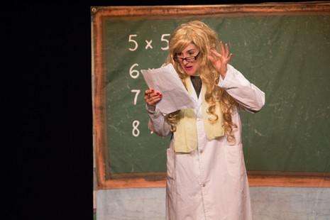 Miss Mackenzie, the teacher.