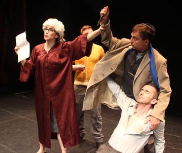 Portia, Shylock and Antonio