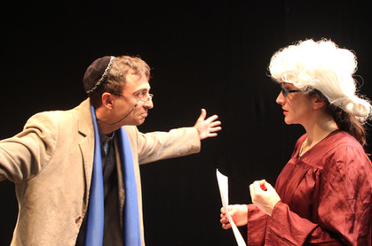 Shylock and Portia