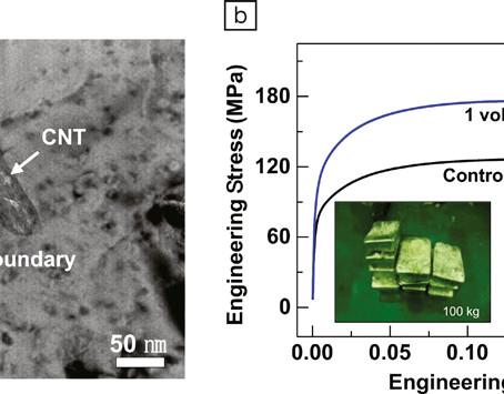 MRS bulletin, Energy Focus: Carbon Nanotubes Improve Radiation Resistance of Aluminum